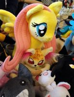 more plushies + Fluttershy by Rens-twin