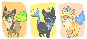 Elemental kittens FREE (CLOSED) by MUTTD0G