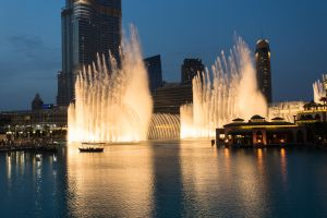 Dubai Fountain by abuethe