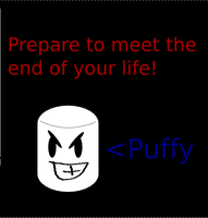 Puffy The Crazy and Evil by nicksnack