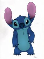 Stich Pencil by Sharindan-dragon