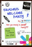 Welcome Erasmus Party by smallbean