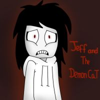jeff and the demon cat cover by ask-jeff-teh-killer
