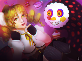Mami Tomoe - Want some tea? by Myodora