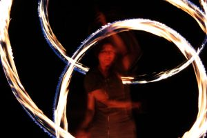Fire Poi 2 by photobfurness