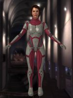Default Jane Shepard from Mass Effect 1 for XPS by Melllin