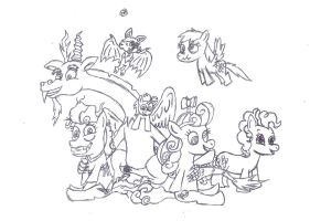 Discord's Little Hellraisers by uhnevermind