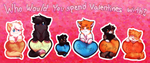 TSC- Valentines Cats by DevilsRealm