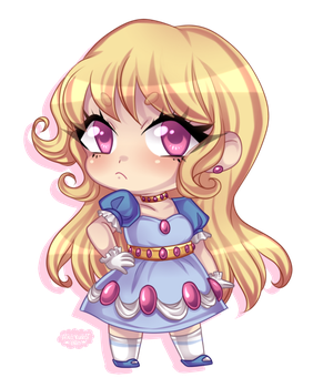[Discount Chibi Commission] Whiona by blushingbats