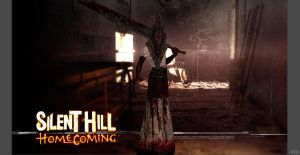 Silent Hill - Pyramid Head by o0Cristian0o