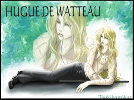 Hugue de Watteau by TsukiKamiKat
