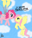 I Wanna Fly With You ^^ by JewelThePonyLover12