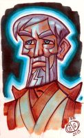 Ghost of Obi Wan Kenobi by Chad73