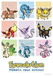 Eeveelution Poster by LovelyKouga