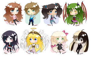 Quick Mini Chibi Batch-2 by CuBur