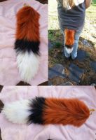 Prince-Foxlan's Yarn Tail by Iceshadow86