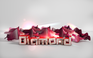 Abstract Wallpaper -Diamond [C4D,PS] by DezTizzy