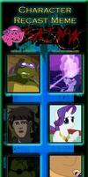 Character Recast meme - SAINW MLP by Just-Call-Me-J