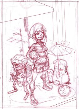 cover sketch by ChristianNauck
