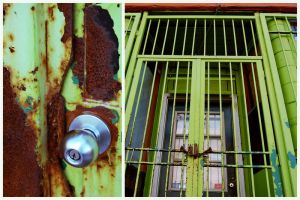 diptych - rust and bars by wildefae