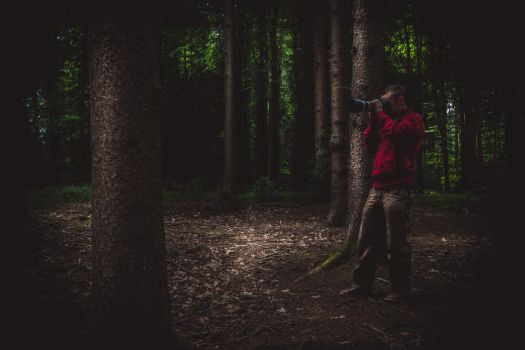 Felix im Wald by chickow