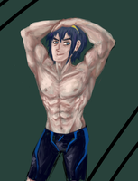 Free! AU Marth by Prince-Marusu