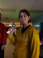 Star trek commander - Romulan (from USS O'Bready) by Kitedge