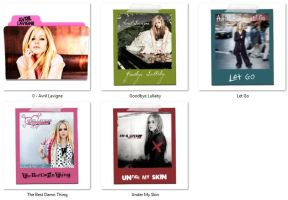 Music Folder Icons 1 (Artists - Albums) ICO by nellanel