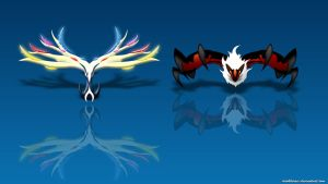 Xerneas or Yveltal? (pokemon X and Y) by darkheroic