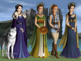 GoT Scene Maker: Greek Goddesses by moonprincess22