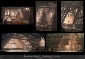 Environment design interiors by Tryingtofly