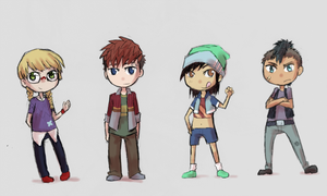 Group o Chibis by scotty9359