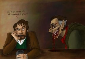 In the bar the other day... by artsytarts
