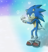 Cryokinesis Sonic-Gift 3 by Muetron