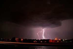 Lightning in West Texas 3 by Test-Grave