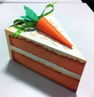 Carrot Cake Slice by RSImpey