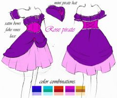 dress design for bodyline by may-chu