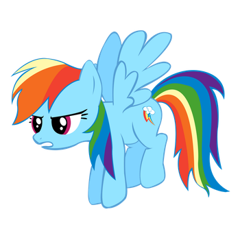 Rainbow Dash Doesn't Like Your Tricks by techs181