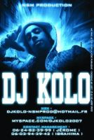 DJ KOLO Info Flyer by gar21nett