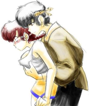 Ranma to Ryoga - Grope by sethron