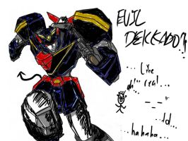 EBIL DEKKADO by Starscream-CharSiew