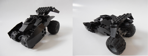 LEGO Batmobile by jetski7