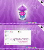 ScreenShoot' Purplegothic by Francebeauty