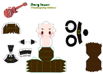 Thanksgiving Davy Papercraft (Newer Version)! by paulwellerfan79