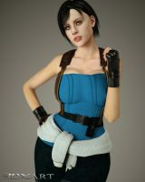 More Like Jill Valentine Part 2 by 3DXArt