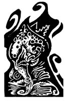 031711 ink abstract by Crazywulf