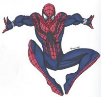 Spidey Series: Ben Reilly Spider-Man by RobertMacQuarrie1