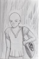 Bald guy by kalistina