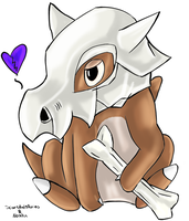 Cubone Collab by ScarsAndStories