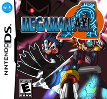 Megaman Axl Boxart Front by Advent-Axl